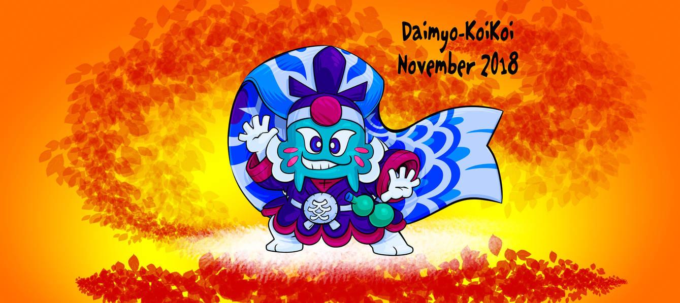 New KoiKoi November by Daimyo-KoiKoi