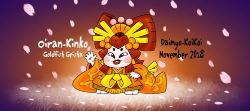 New Kinko November by Daimyo-KoiKoi