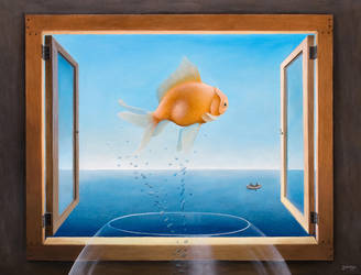 Goldfish Dreams by justindmiller