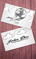 Cartoon business card by Freshbusinesscards