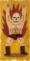 Vintage Death Wins by Teagle