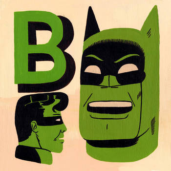 B is for Batman by Teagle