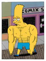 A strong, sad Bart by Teagle