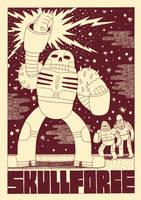 Skullforce Poster by Teagle