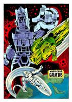 Fantastic Four #74 Redraw by Teagle