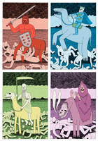 The Four Horsemen by Teagle