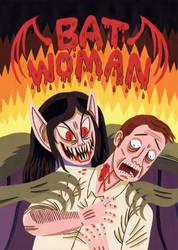 Bat Woman by Teagle
