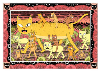 Cats by Teagle