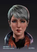 Kara (Detroit: Become Human) short hair ver. by abysskai