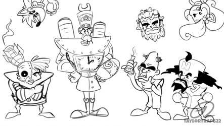 Crash Doodles - Derp Doctors by TaylorTrap622