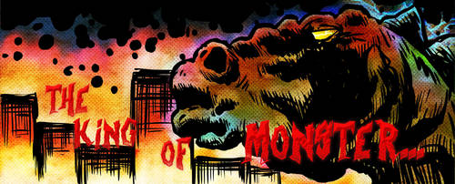 Godzilla by Audector
