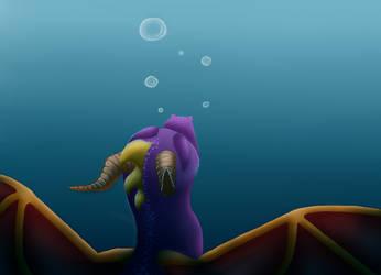 Spyro WIP by HorizontalSquid