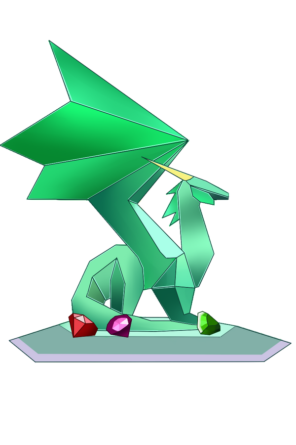 Spyro - Dragon Crystal by HorizontalSquid