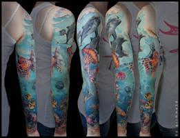 Ocean Sleeve by grimmy3d