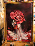 red roses... by grimmy3d
