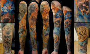 Merz Sleeve finished by grimmy3d