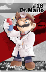 #18 | Dr. Mario by PandaManu