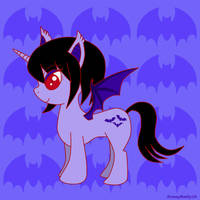 HoneyBatty the Batpony by HoneyBatty16