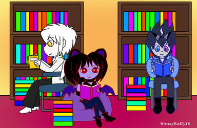 Bookworms by HoneyBatty16