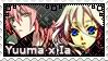 VY2 Yuuma x Ia stamp by Aorka