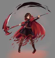 [Fanart] Ruby Rose by hellfire153