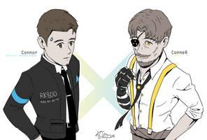 Connor and ConneR by Kikansha