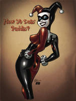 Bruce Timm's Harley Quinn Pulp Style by richmbailey