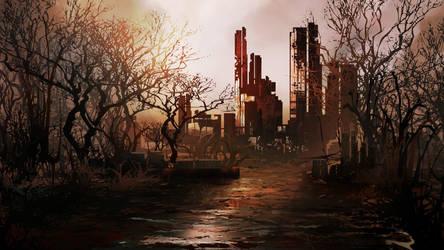 Wasteland by mrainbowwj