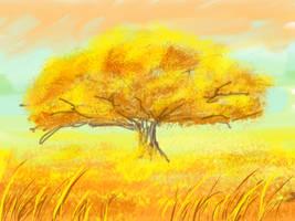 SKETCH A TREE 2 by mrainbowwj