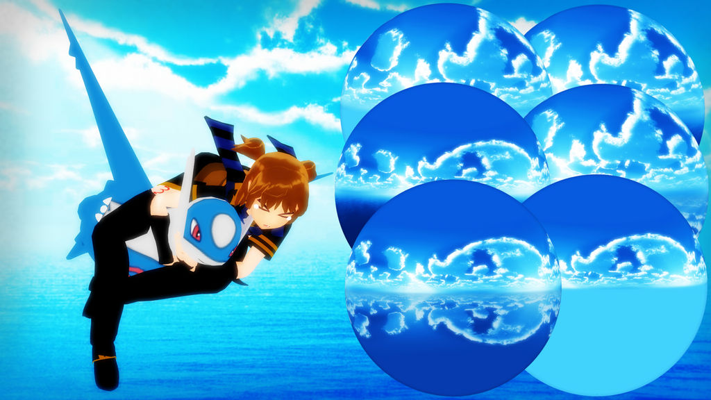Mmd Dl Series Over The Sea Skydome Dl By 2234083174 On Deviantart