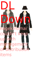 MMD DL Series Headless Trench Coat Dudes DL Down by 2234083174