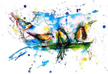 Singing Birds by smithgray