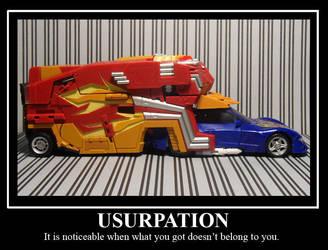 Usurpation by DinastiaTransformers