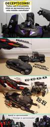 A Camuflagem parte I by DinastiaTransformers