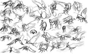 Roark Gestures by Scarlet-Harlequin-N