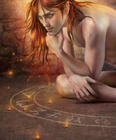 demon - detail by ceruleanvii