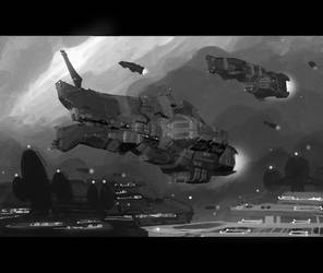 Ion Cannon Cutscene by Talros