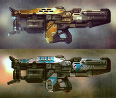 Weapon concept #2 by Talros