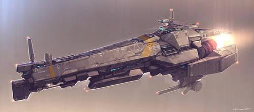QR Space Cruiser by Talros