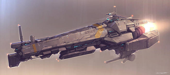 QR Space Cruiser by Talros