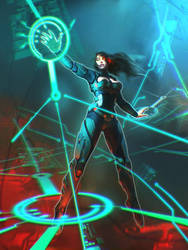 Netrunner by ortheza