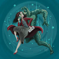 The Shape of Water by pingolito