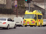 Pikachu Bus by CloverWing