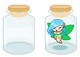 Free to use with credit - Pixel Jar by CloverWing