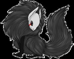 Dark Foxy Creature by CloverWing