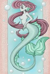 Mermaid by kitsune89