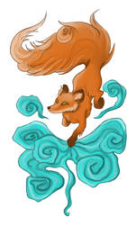 The fox by kitsune89