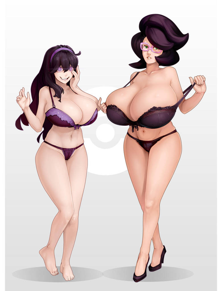 Hex maniac x Wicke pokemon by Materclaws
