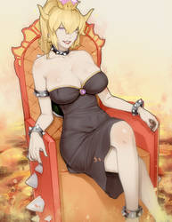 Bowsette by Materclaws