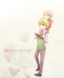 APH - UK and little HK by KoujiT